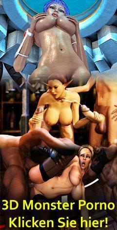 3D monster porno