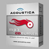 Acoustica MP3 CD Burner