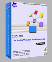 Cucusoft All Audio/Video to MP3 Converter