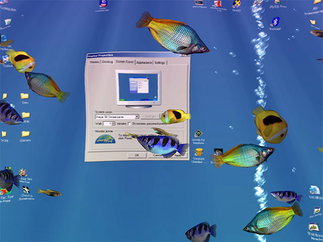 Programm Aqua 3D Screensaver 1