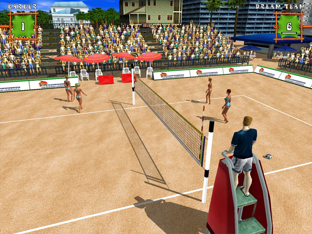 Spiel Beach Volleyball 2