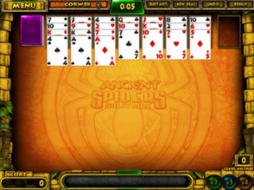 Spiel Ancient Spiders Solitaire 3