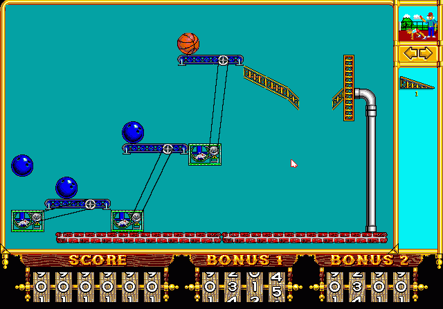 Spiel The Incredible Machine 1