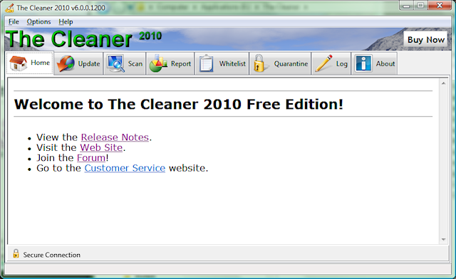 Programm The Cleaner 2010 1