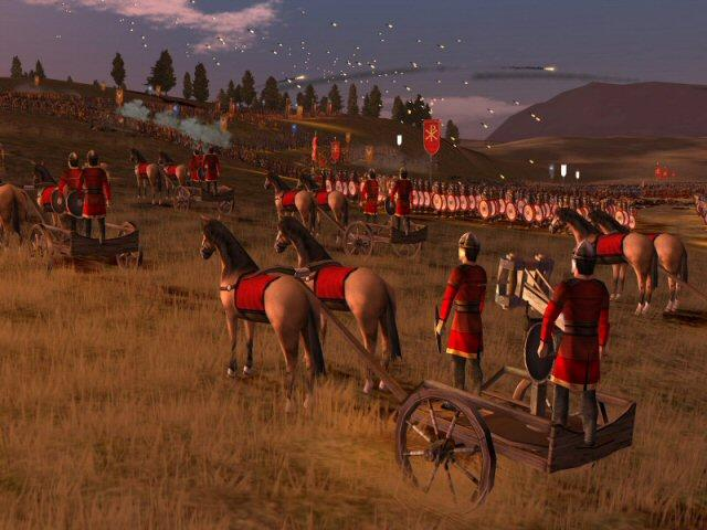 Spiel Rome Total War: Barbarian Invasion 1