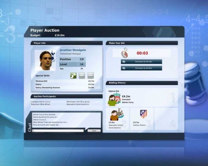 Spiel Fifa Manager 10 4