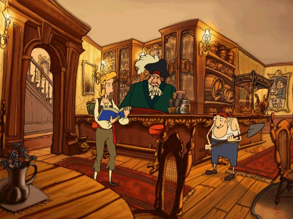 Spiel The Curse of Monkey Island 4