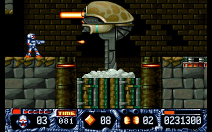 Spiel Turrican II - The Final Fight 3