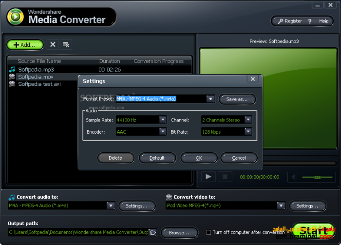Programm Wondershare Media Converter 2
