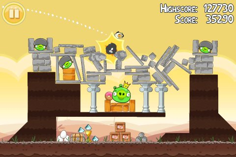 Spiel Angry Birds 4