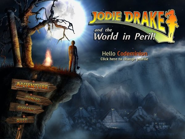 Spiel Jodie Drake and the World in Peril 4