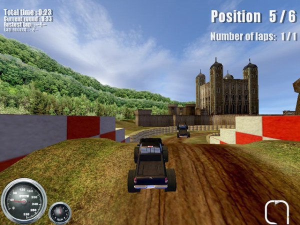 Spiel Ultimate Monster Trucks 3