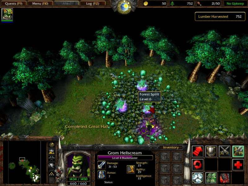 Spiel WarCraft III - Reign of Chaos & The Frozen Throne 1