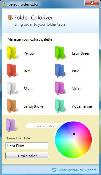 Programm Folder Colorizer 1