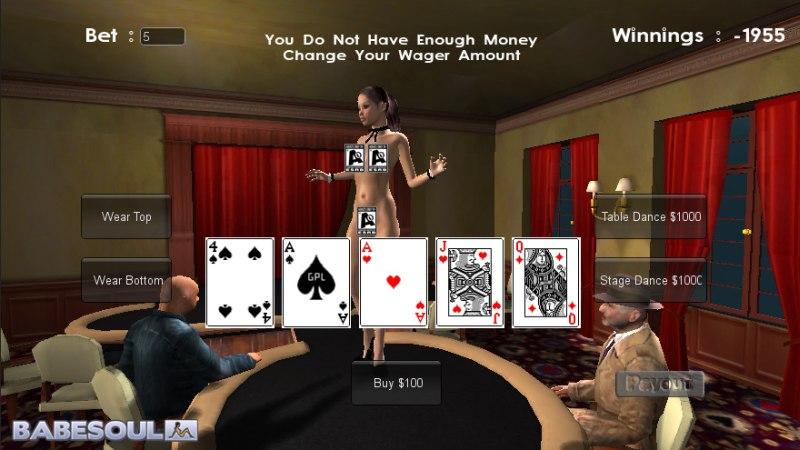 Kostenlose erotische Pokerspiele