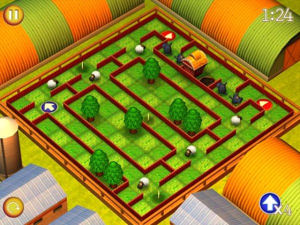 Spiel Running Sheep: Tiny Worlds 1