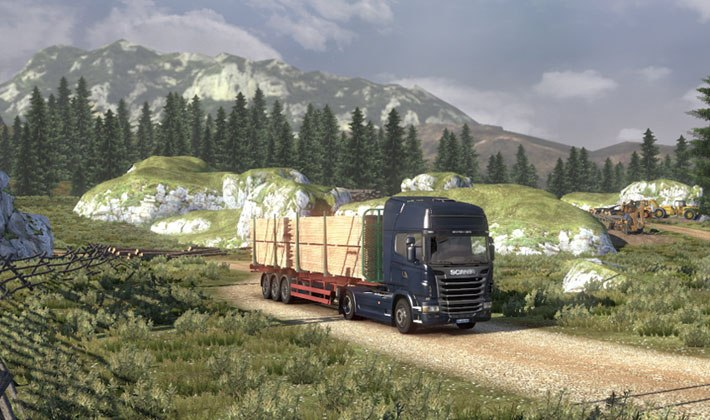 Spiel Scania Truck Driving Simulation 4