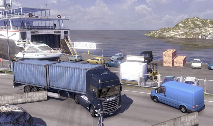 Spiel Scania Truck Driving Simulation 3