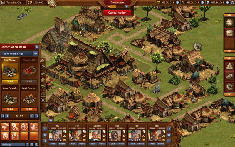 Spiel Forge Of Empires 4