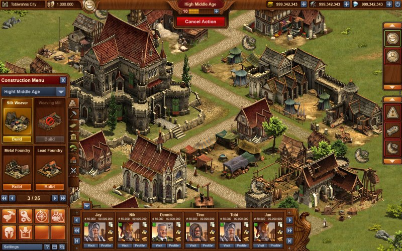 Spiel Forge Of Empires 3
