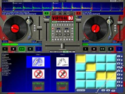 Programm Virtual DJ 1